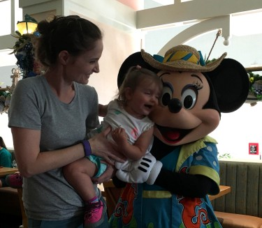 Lily's Meeting Minnie Mouse: December, 2016